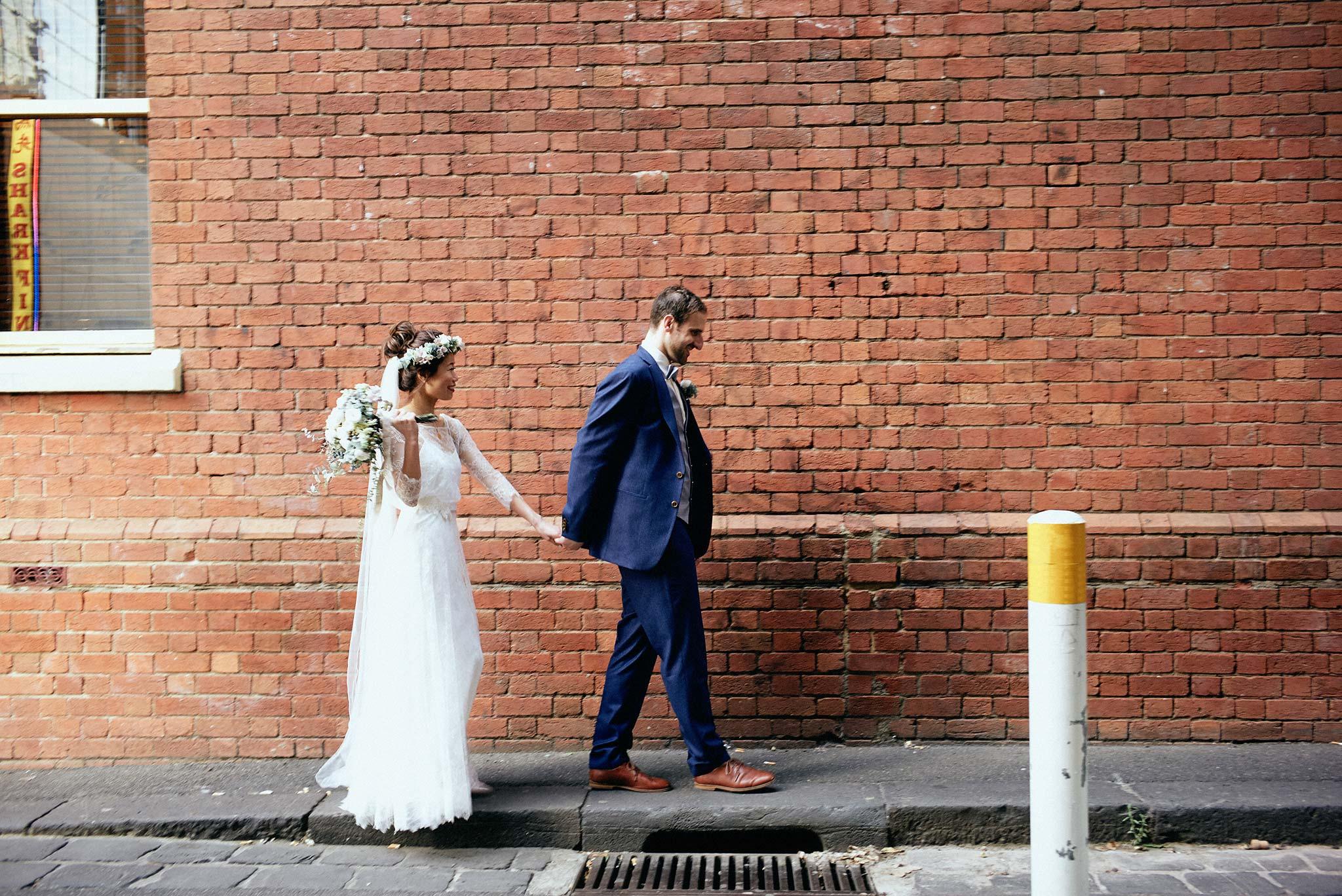 Melbourne-NGV-Triennial-Wedding-Laneway