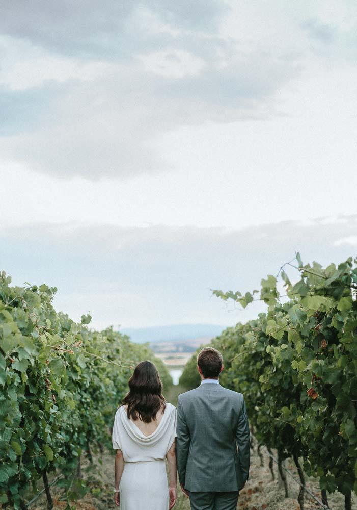 Wedding portrait at The Stones Yarra Valley