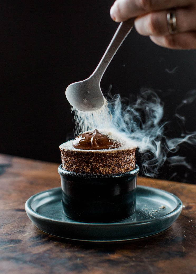 Melbourne-Food-Photographer-Vue-De-Monde-Souffle-Chocolate