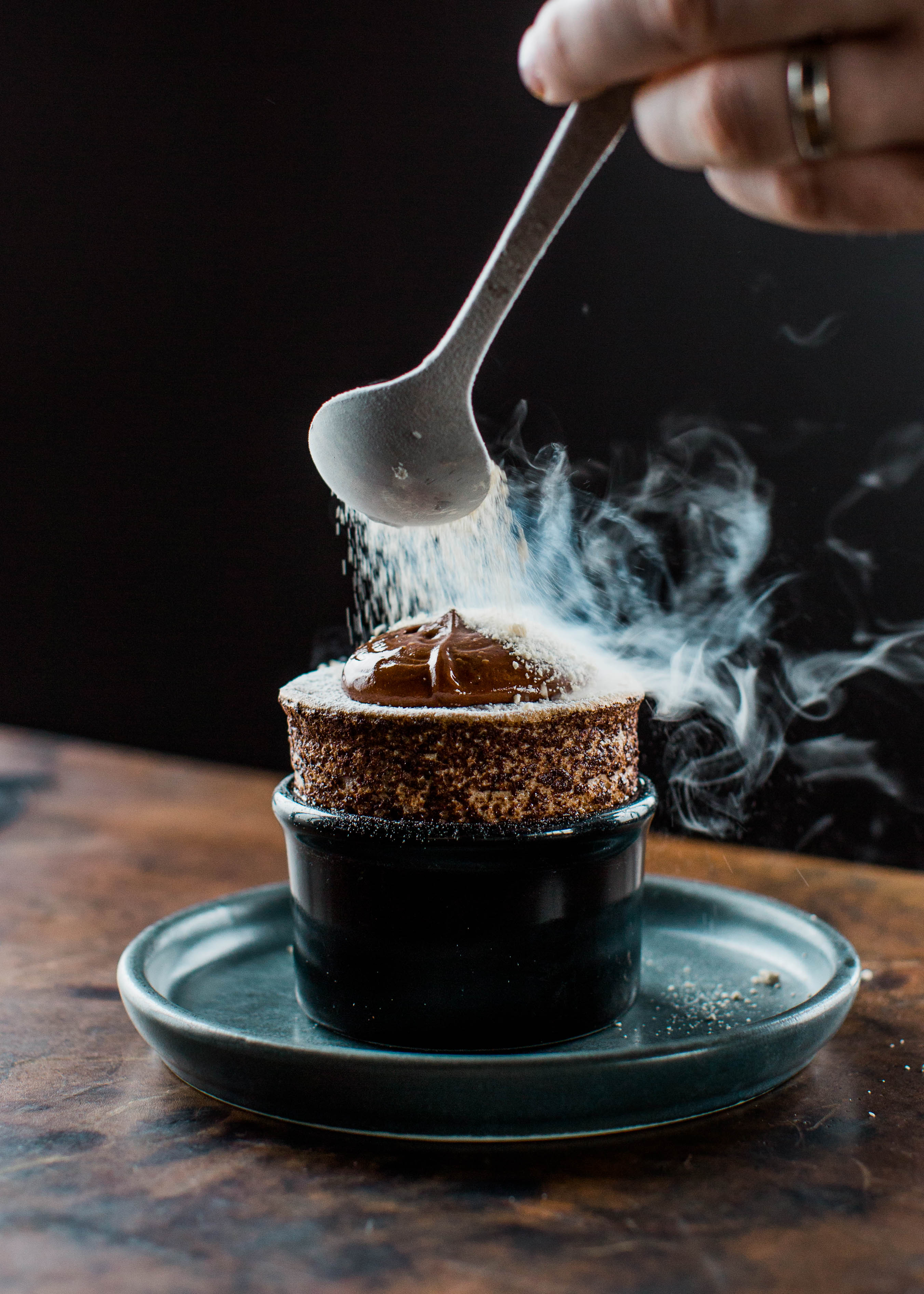 Melbourne-Food-Photographer-Vue-De-Monde-Souffle-Chocolate