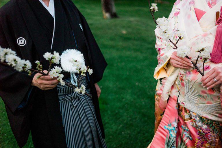 Osaka-Banpaku-Geihinkan-Wedding-reception-kimono-bride-groom