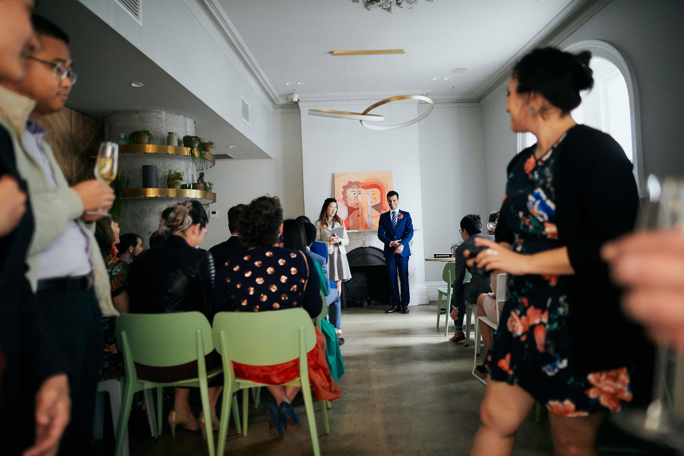 Melbourne-Wedding-Photographer-Kettle-Black-ceremony-entrance