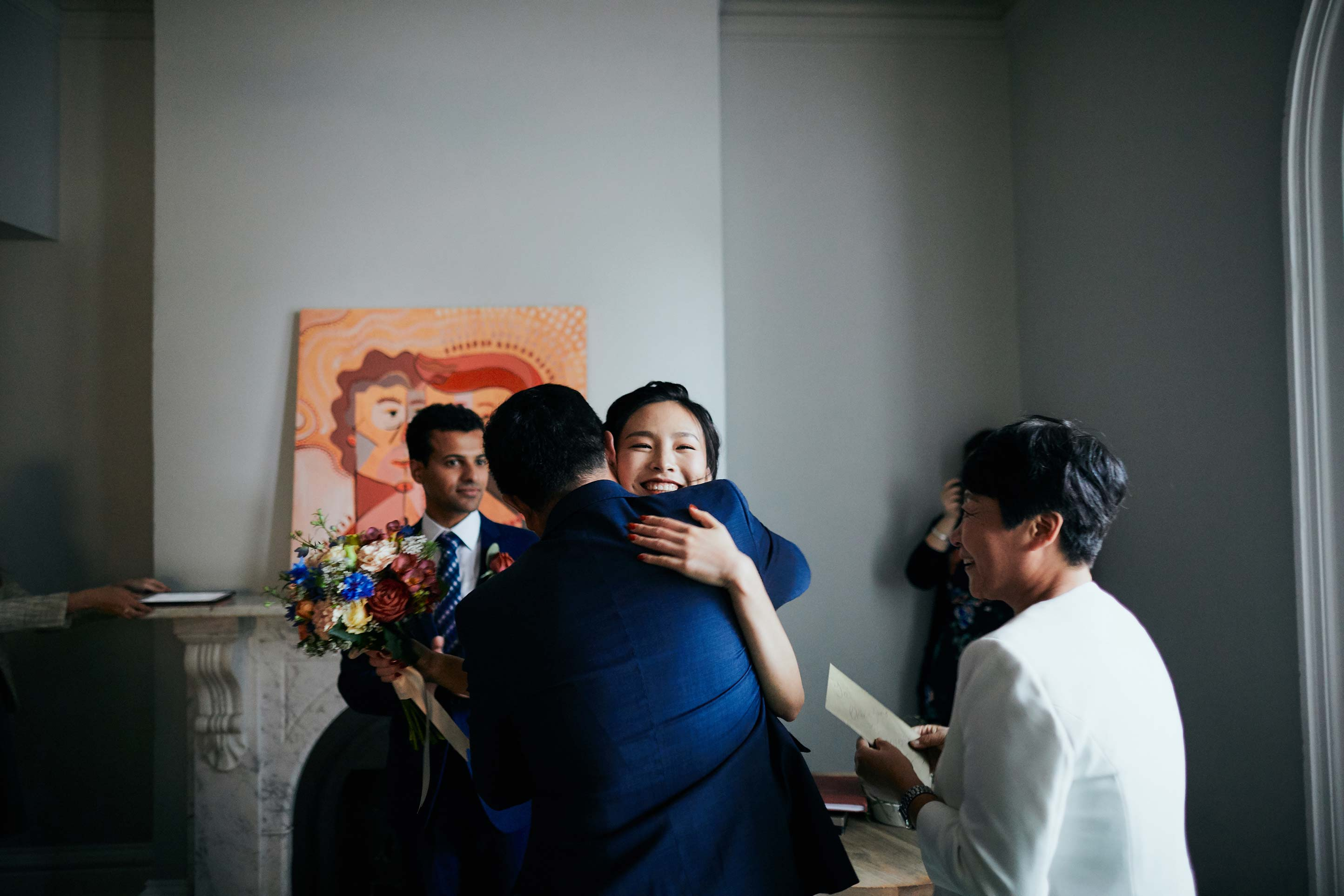 Melbourne-Wedding-Photographer-Kettle-Black-ceremony-hug
