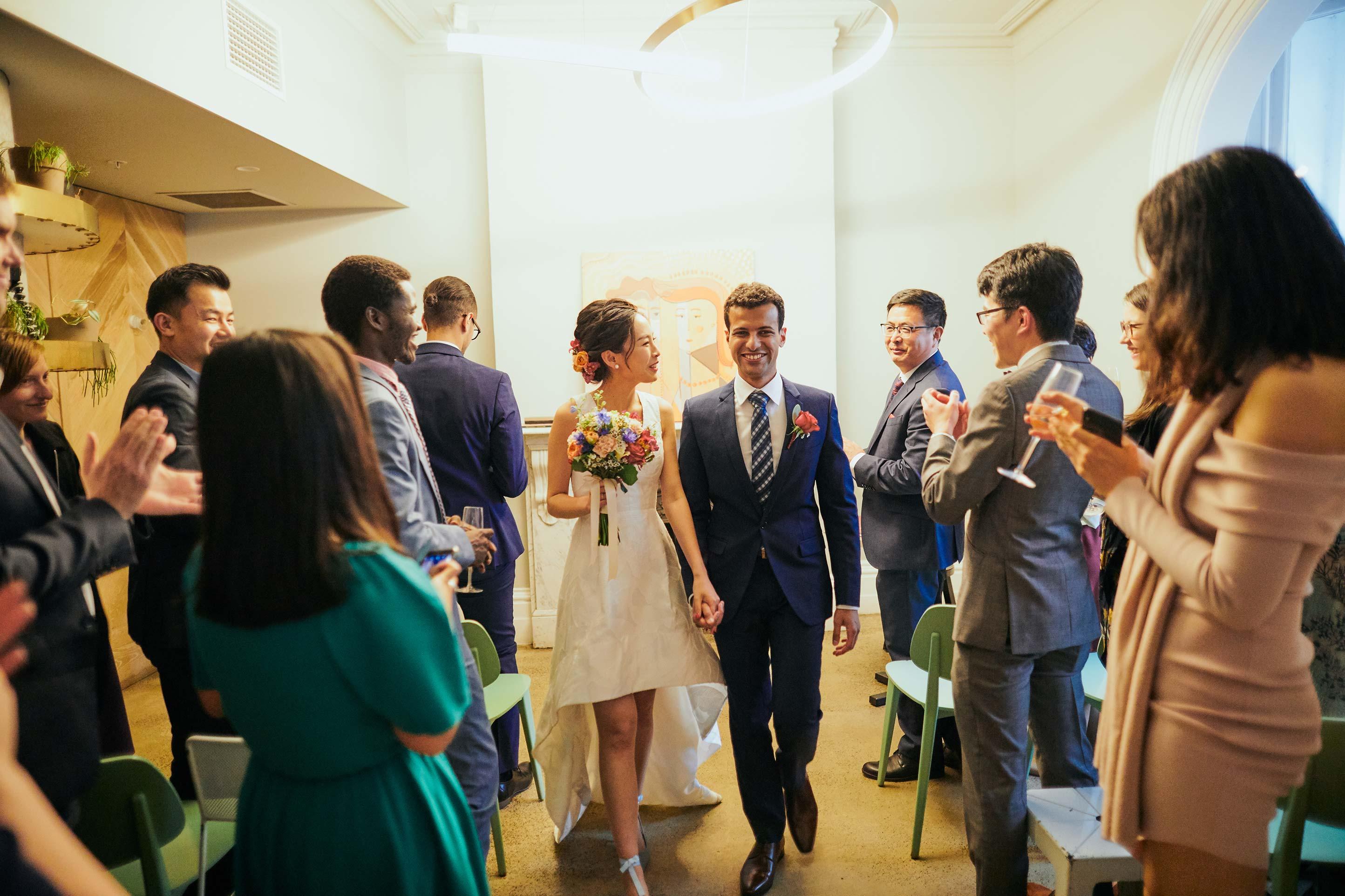 Melbourne-Wedding-Photographer-Kettle-Black-ceremony-exit