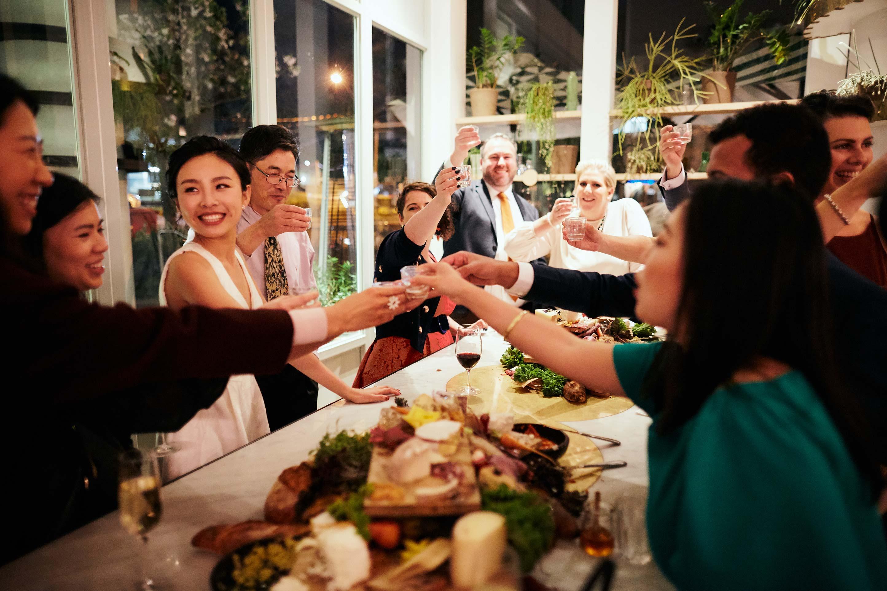 Melbourne-Wedding-Photographer-Kettle-Black-reception-cheers