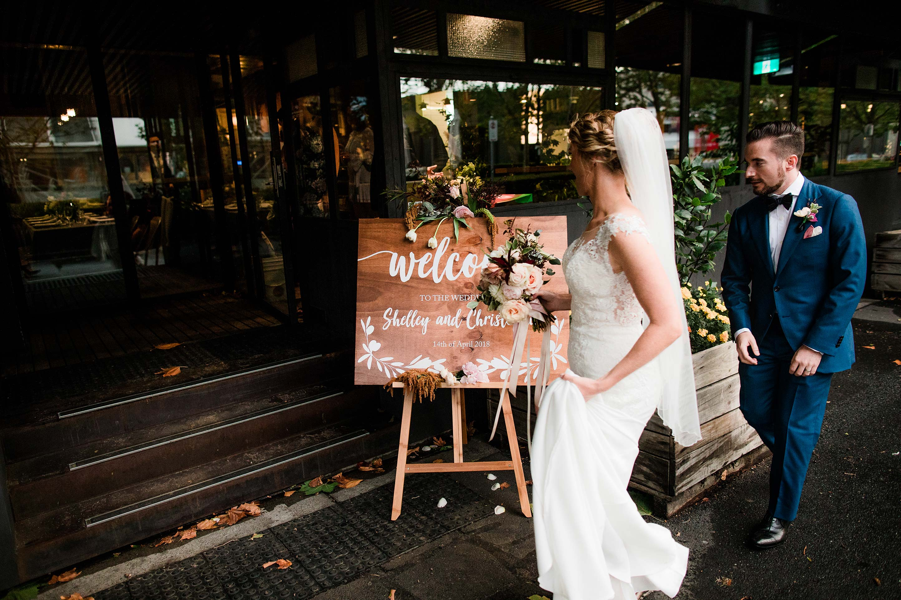 Melbourne-Richmond-Top-Paddock-Wedding-Photographer-bride-groom-entrance