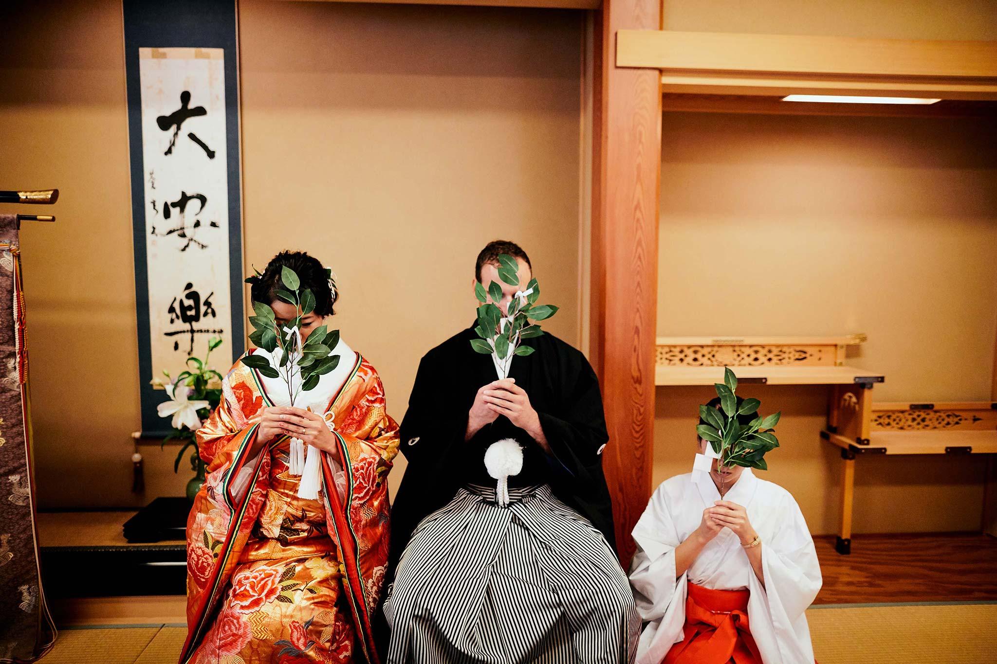 tokyo asakusa shrine traditional wedding ritual practice