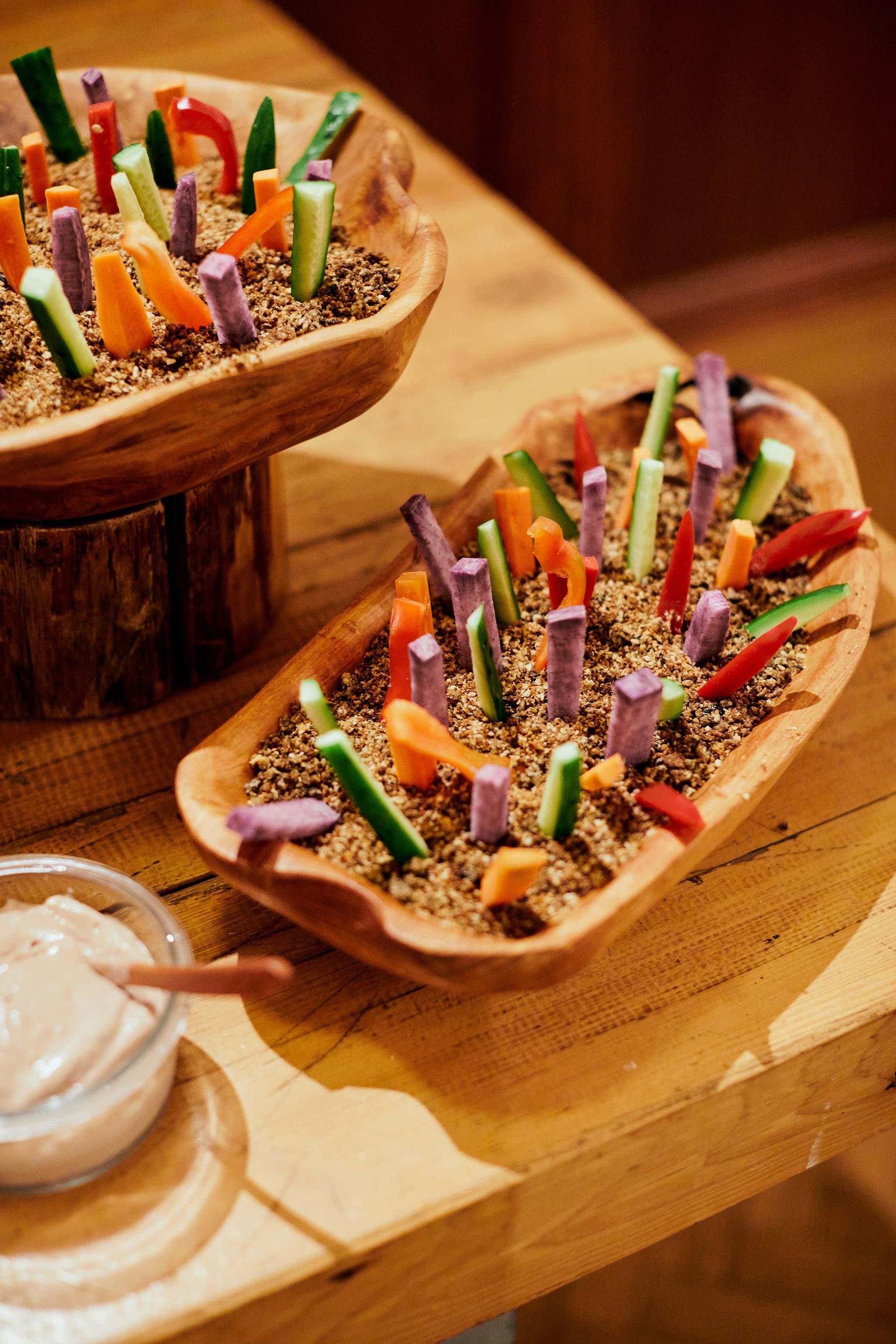 tokyo asakusa shrine bears table reception salad bar