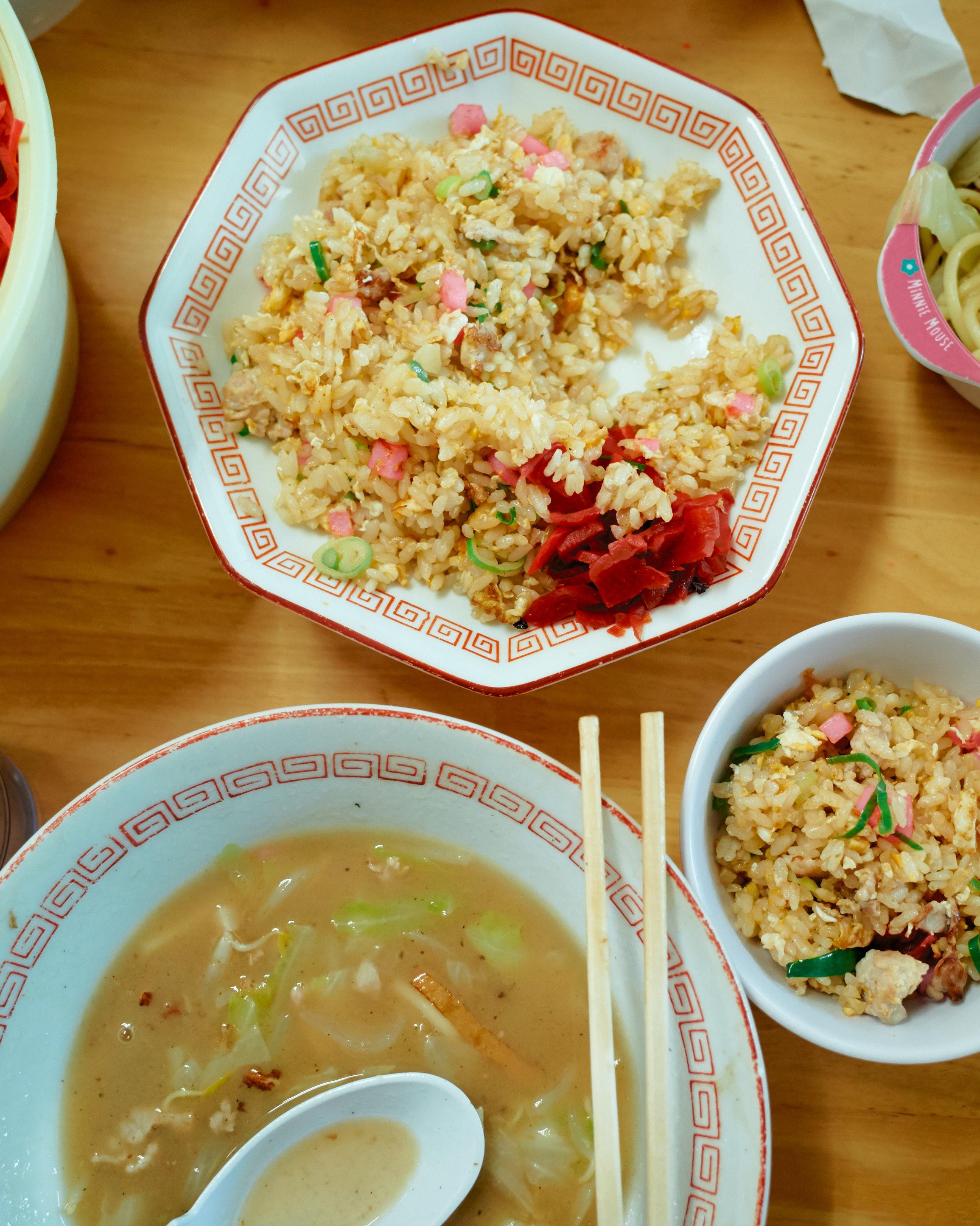fried rice champon anzen shokudo fukuoka