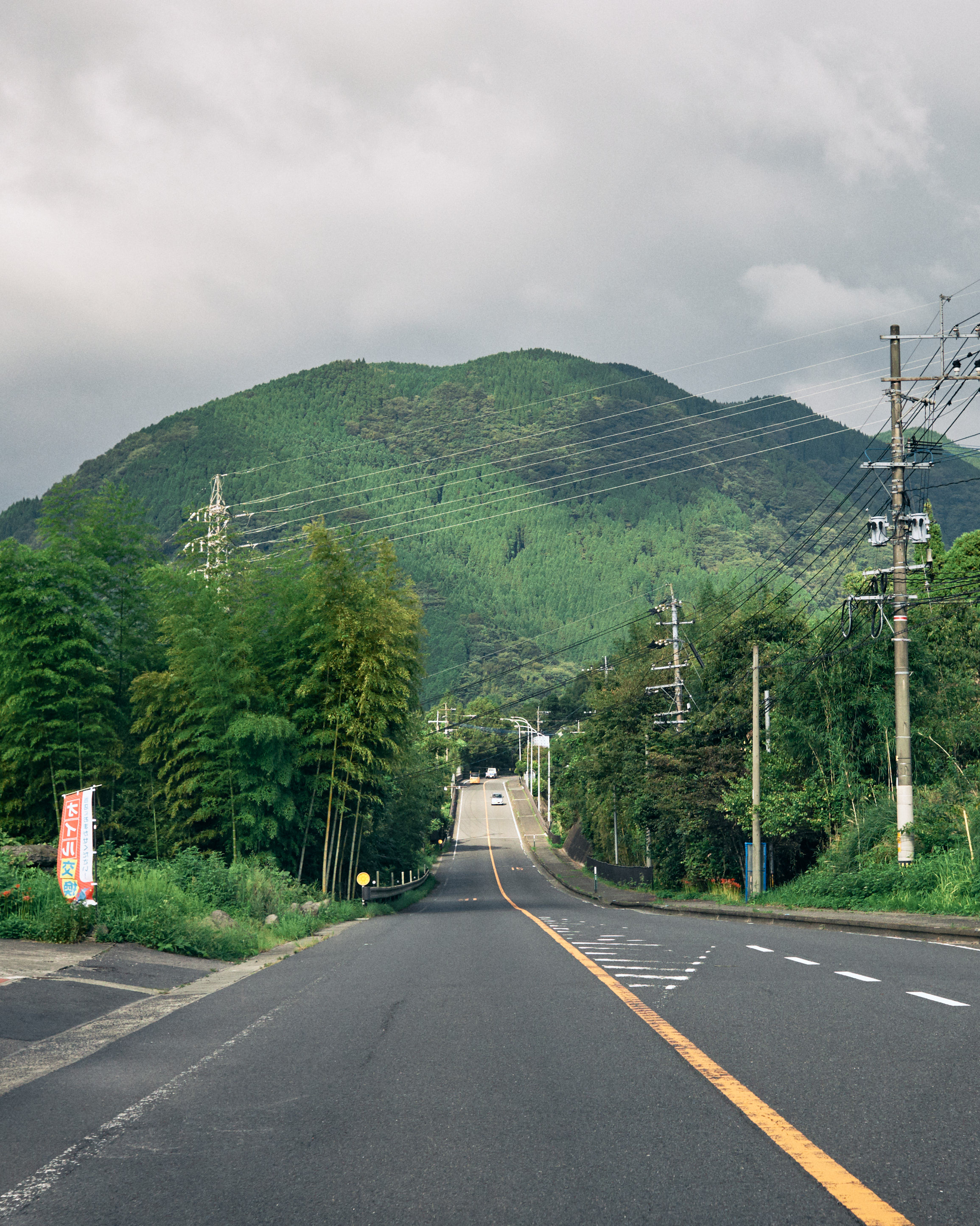 oita camping scenic drive