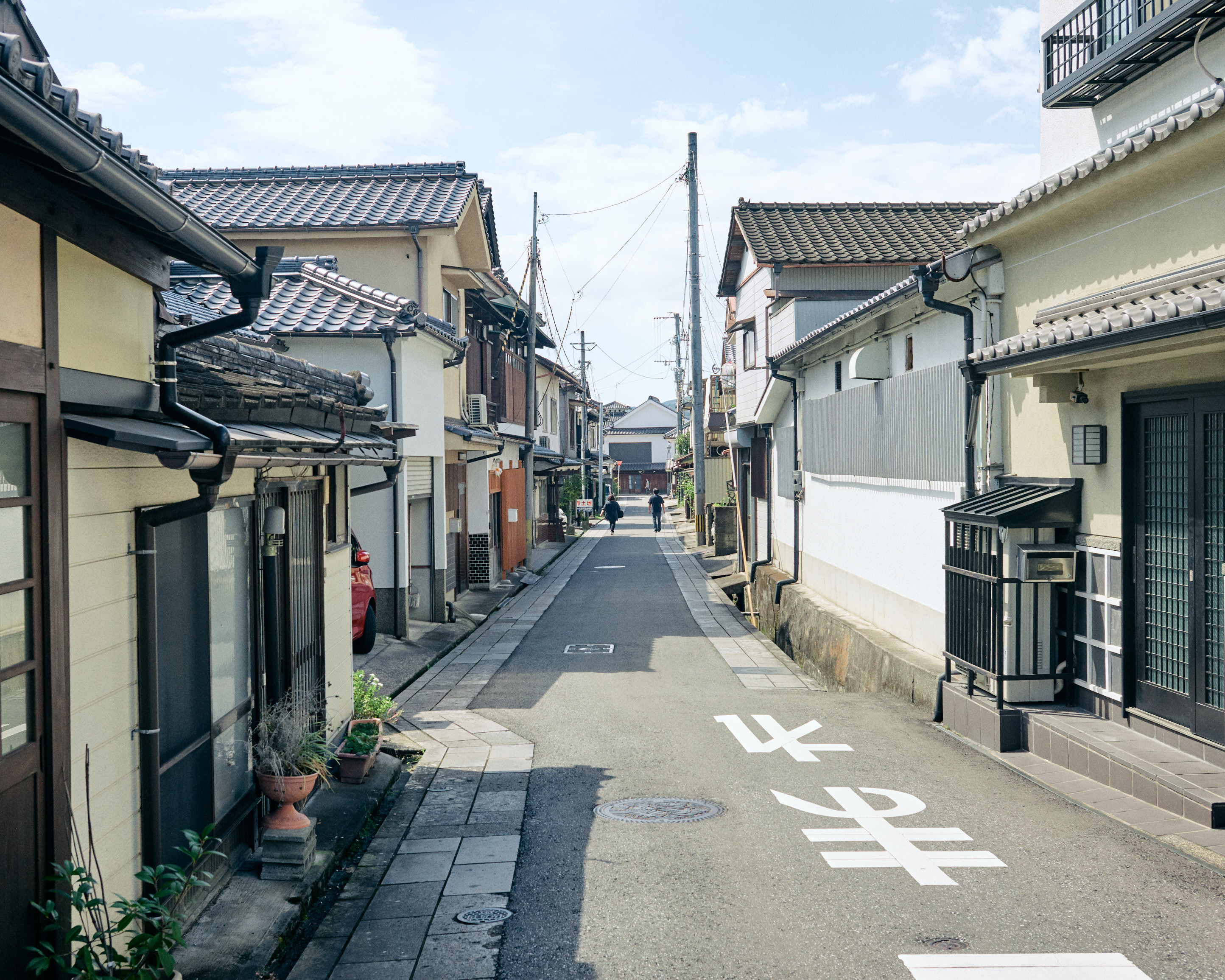 japan kyushu hita traditional street
