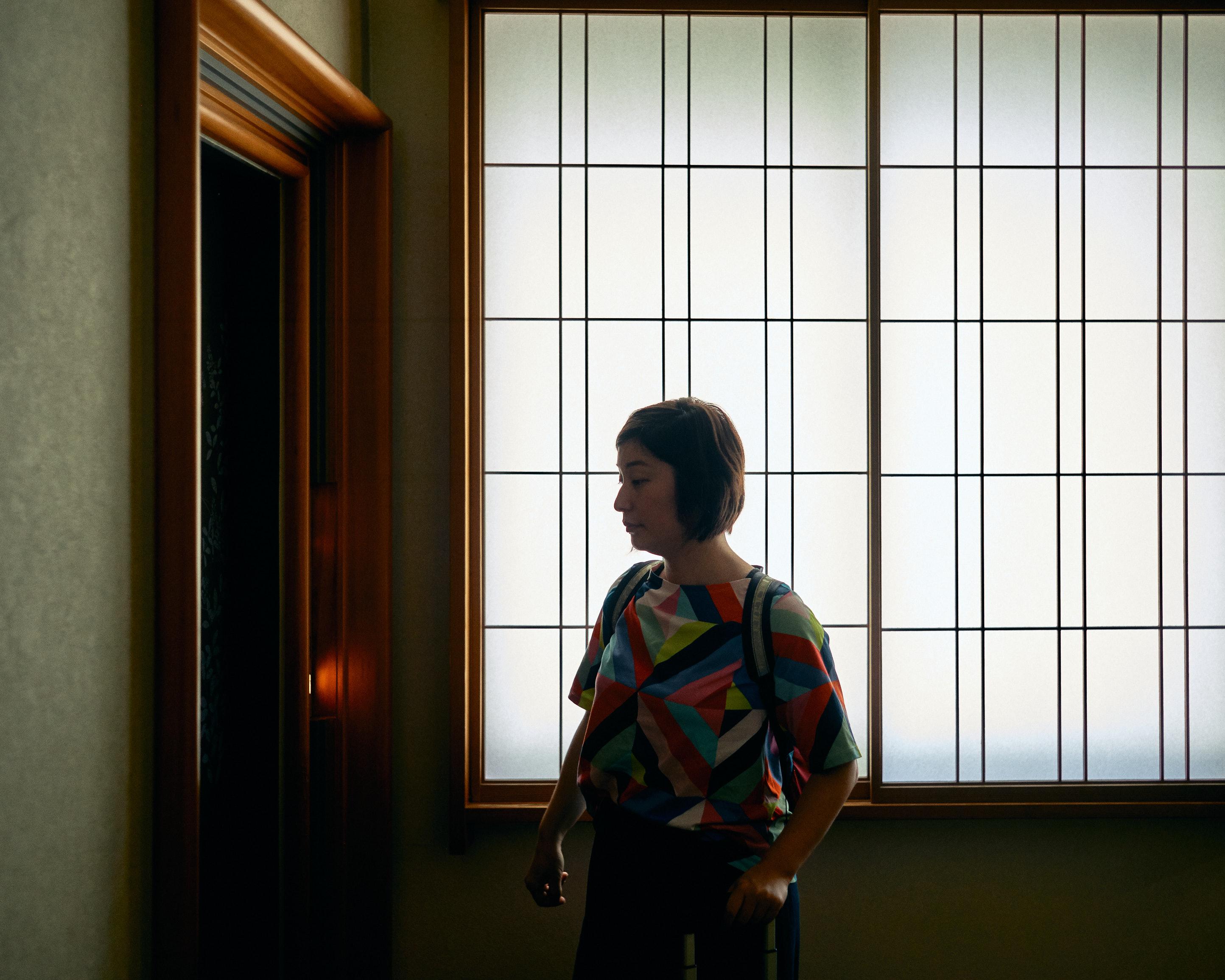 japan travel photographer kagoshima kirishima onsen elevator view