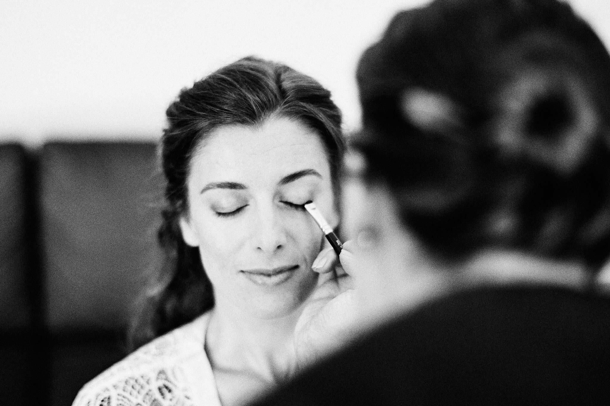 East Melbourne Wedding Bride Getting Ready