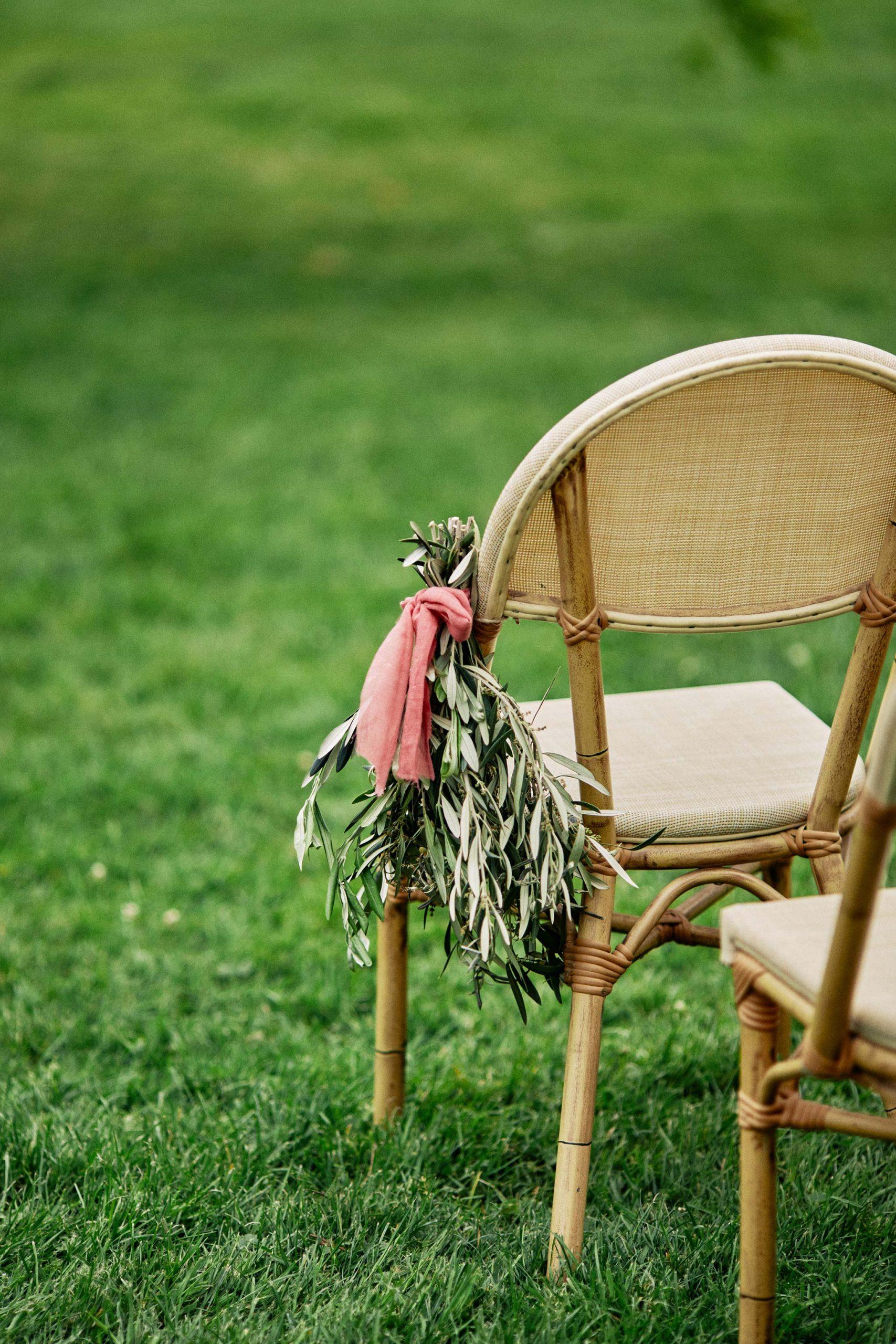 Melbourne Royal Botanical Garden Wedding Ceremony Set Up