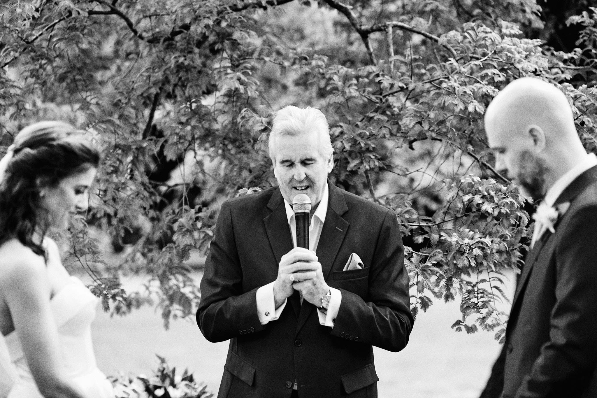 Melbourne Royal Botanical Garden Wedding Ceremony prayer