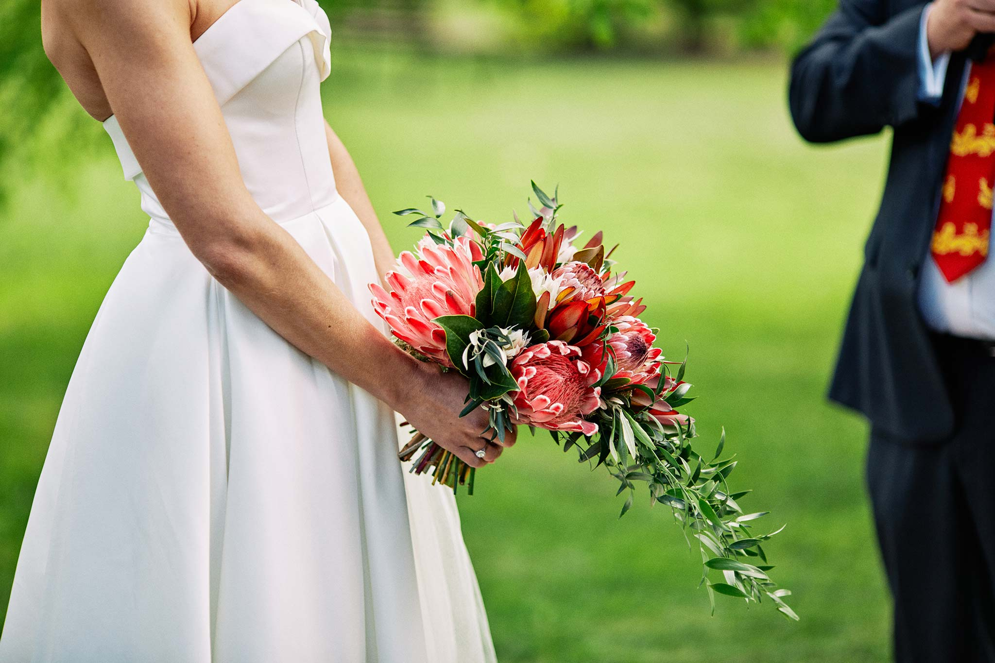 Melbourne Royal Botanical Garden Wedding Ceremony bouquet