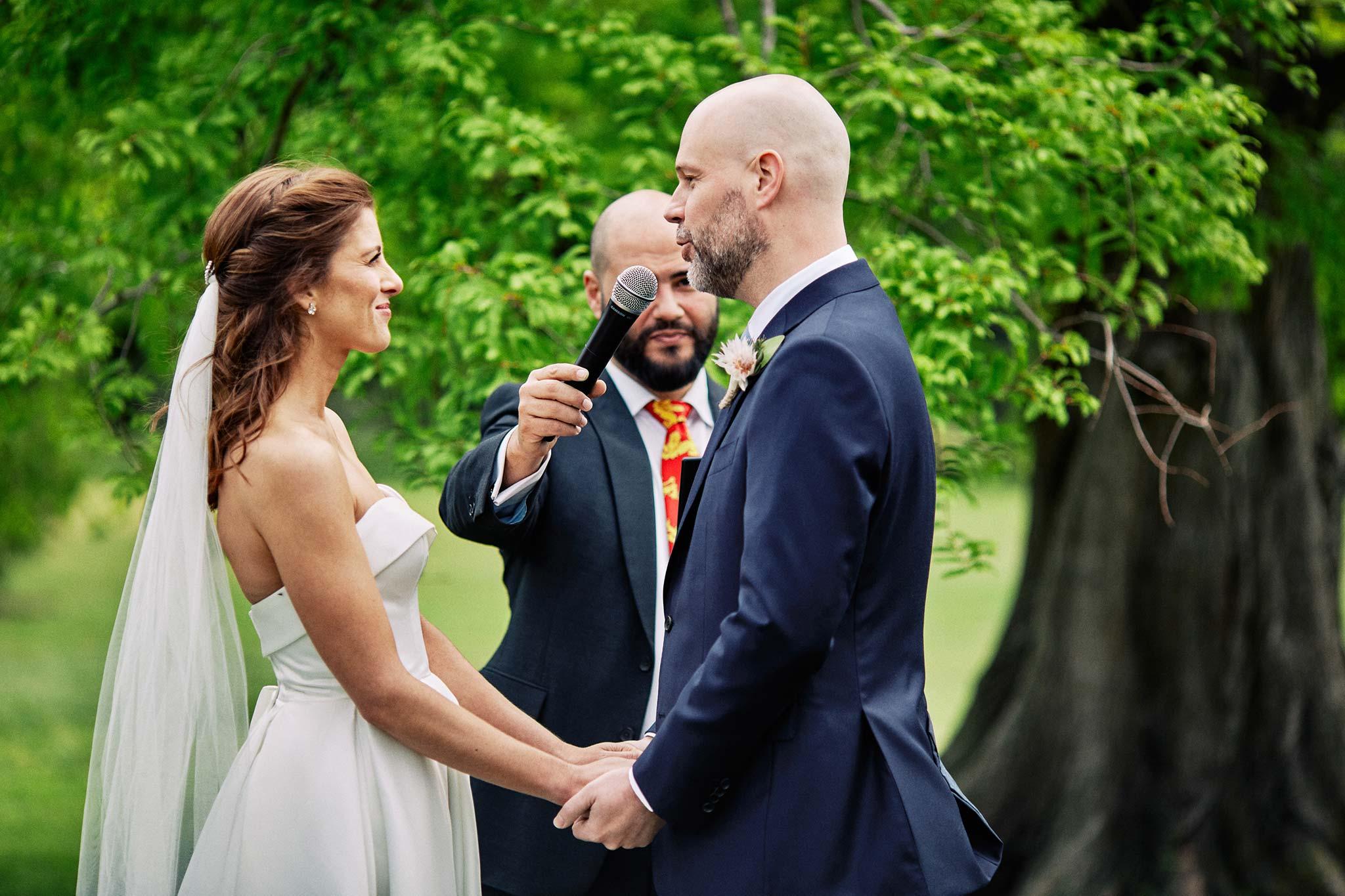 Melbourne Royal Botanical Garden Wedding Ceremony vow