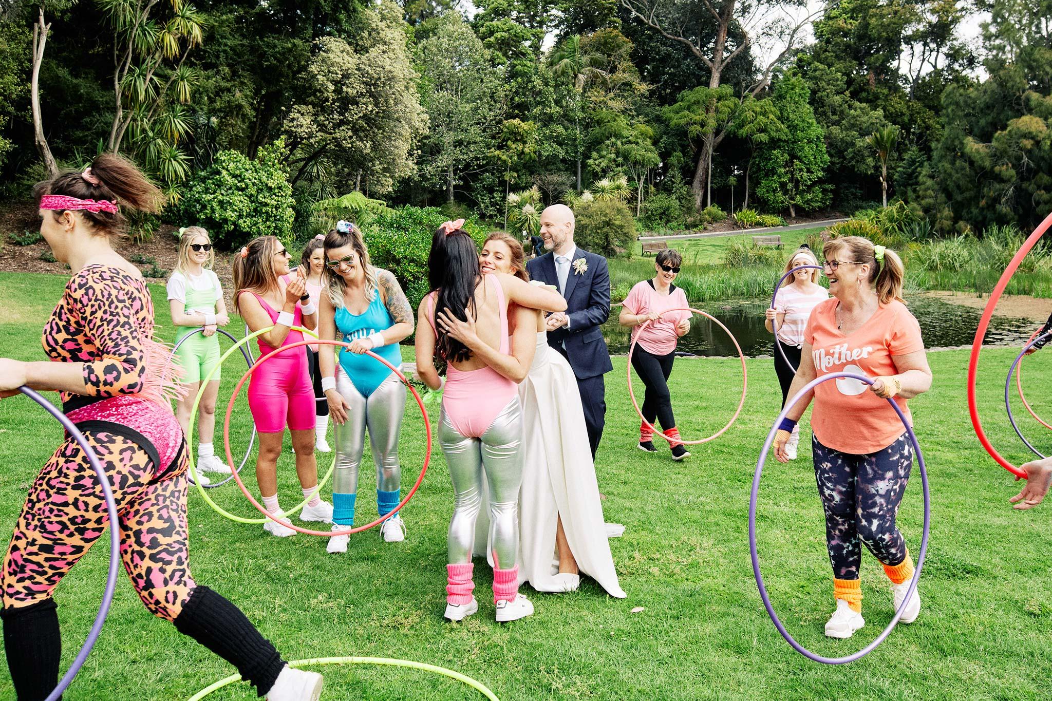 Melbourne Royal Botanical Garden Wedding hens party