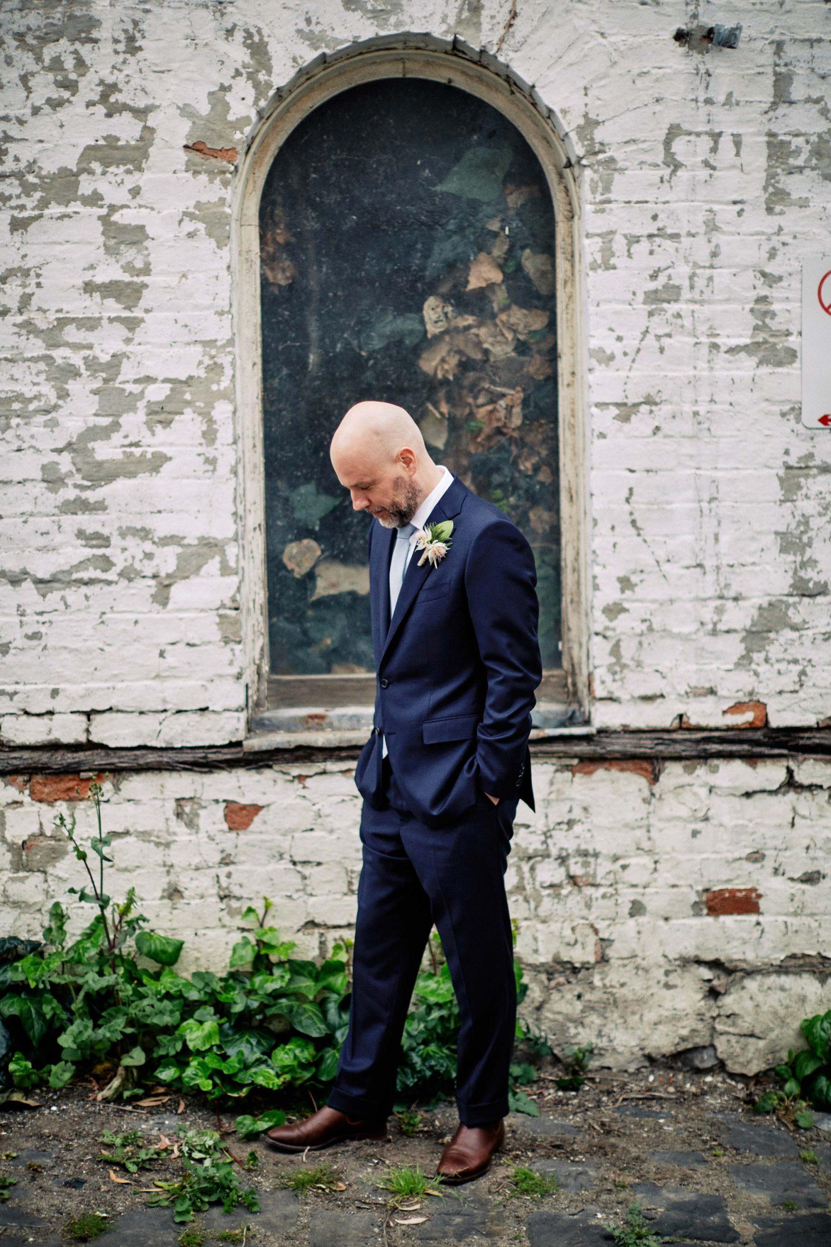 East Melbourne Wedding Photographer Bride Posing groom posing