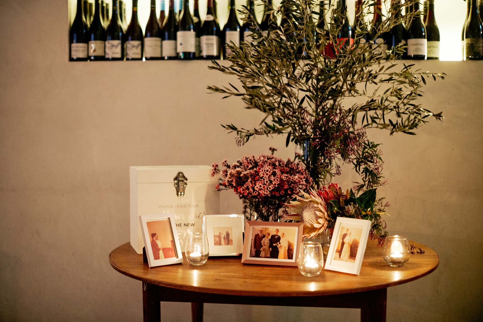 classic melbourne wedding reception french saloon dinner photo table
