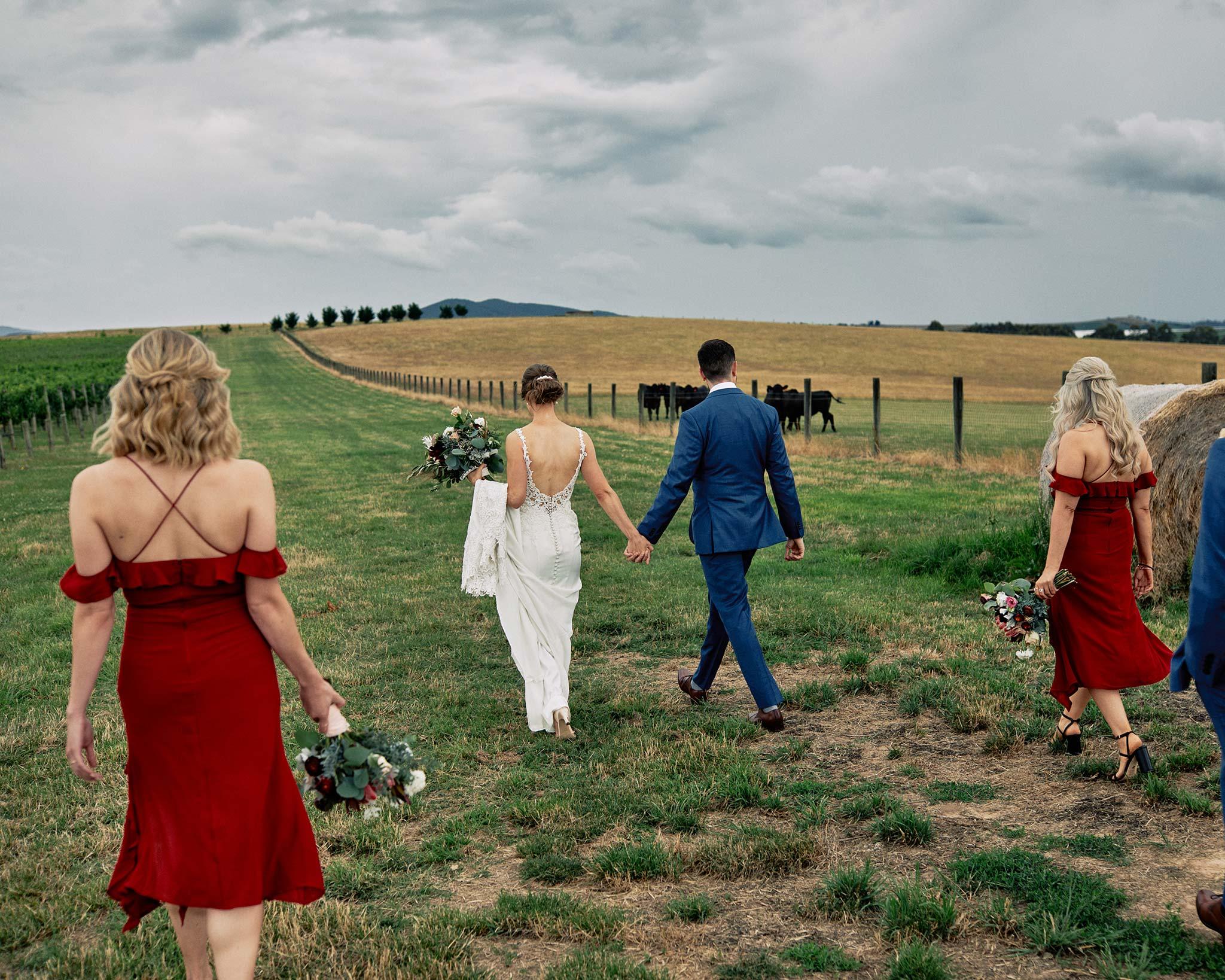 Zonzo estate wedding vineyard