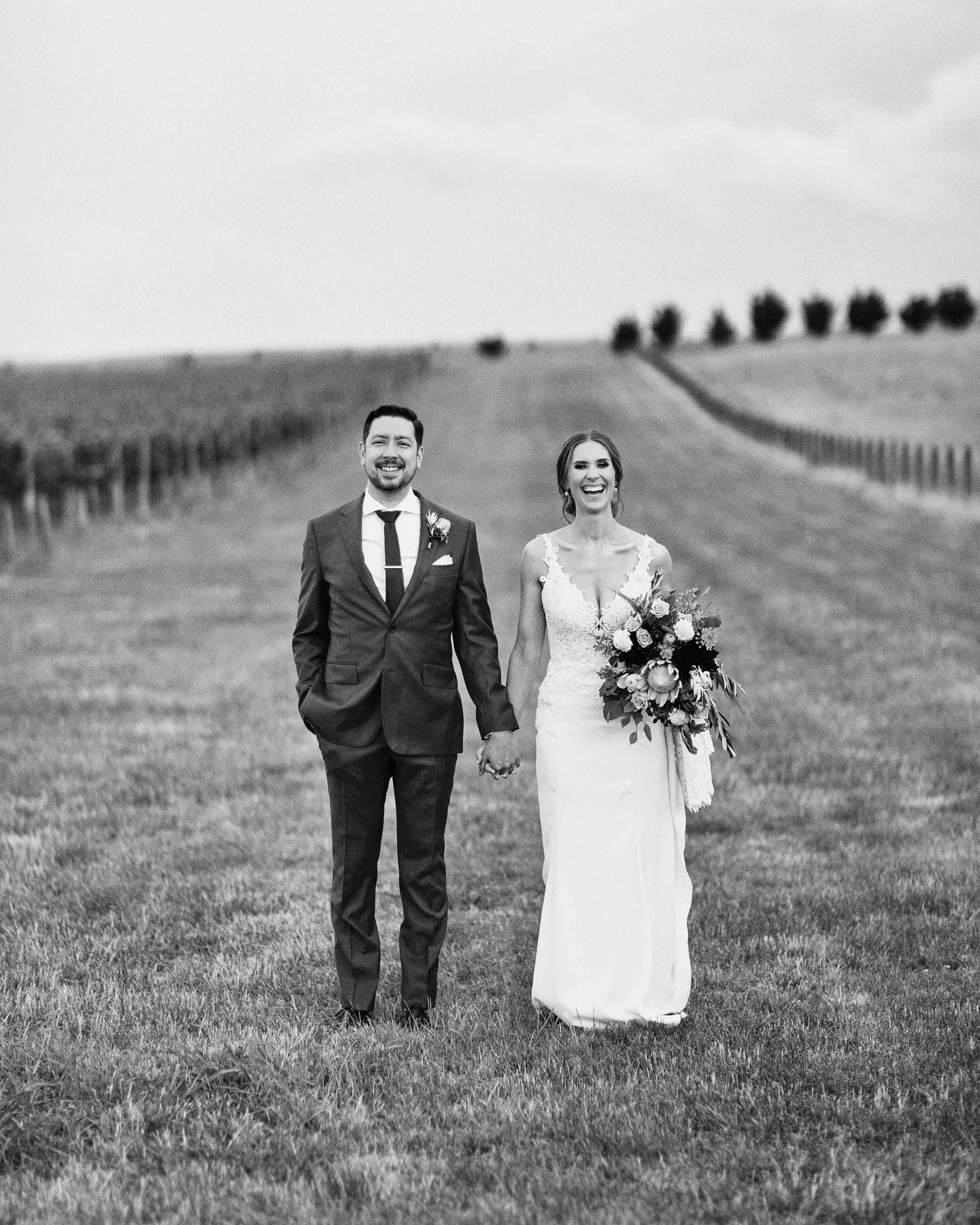 Zonzo estate wedding formal portrait vineyard