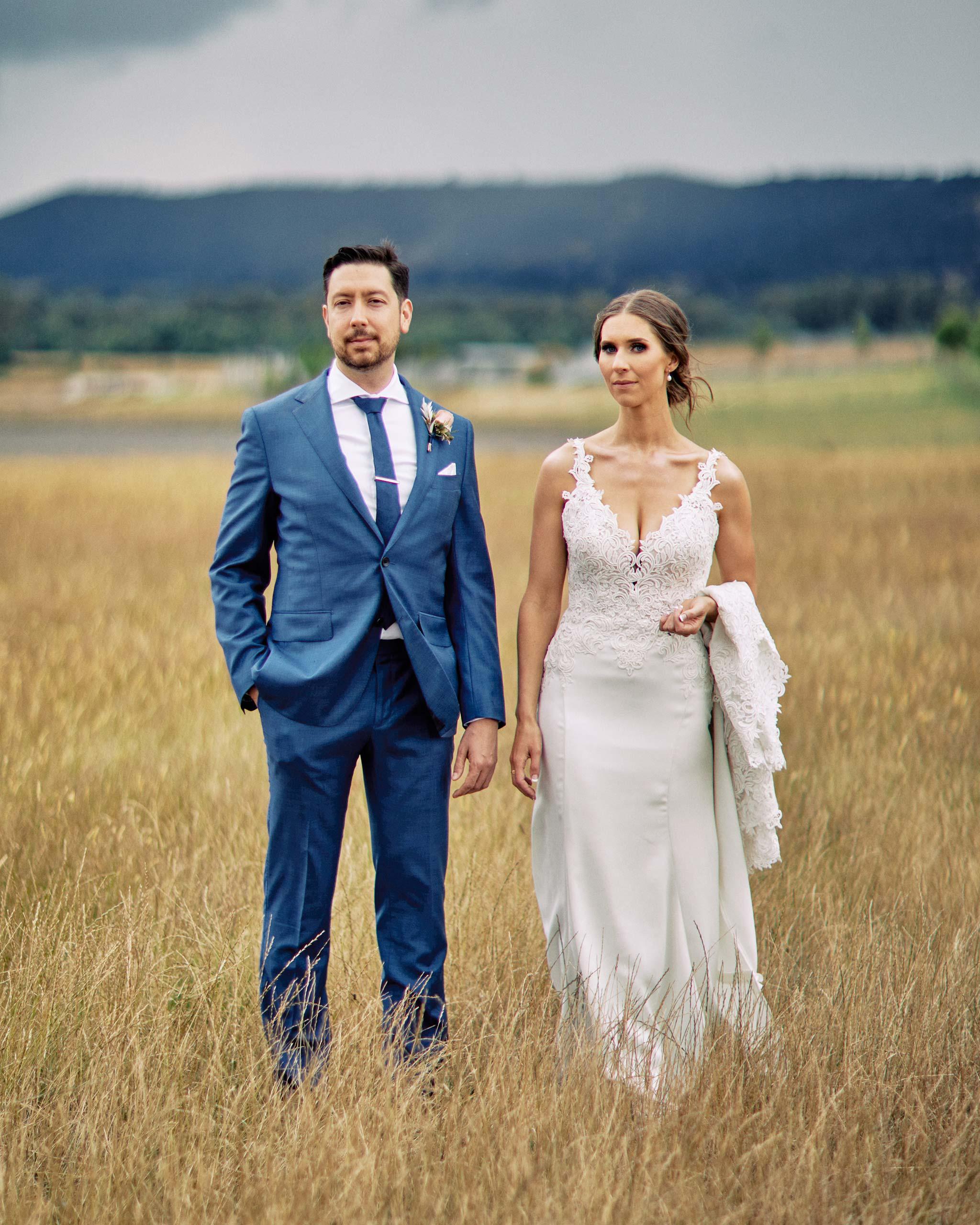 Zonzo estate wedding white dress