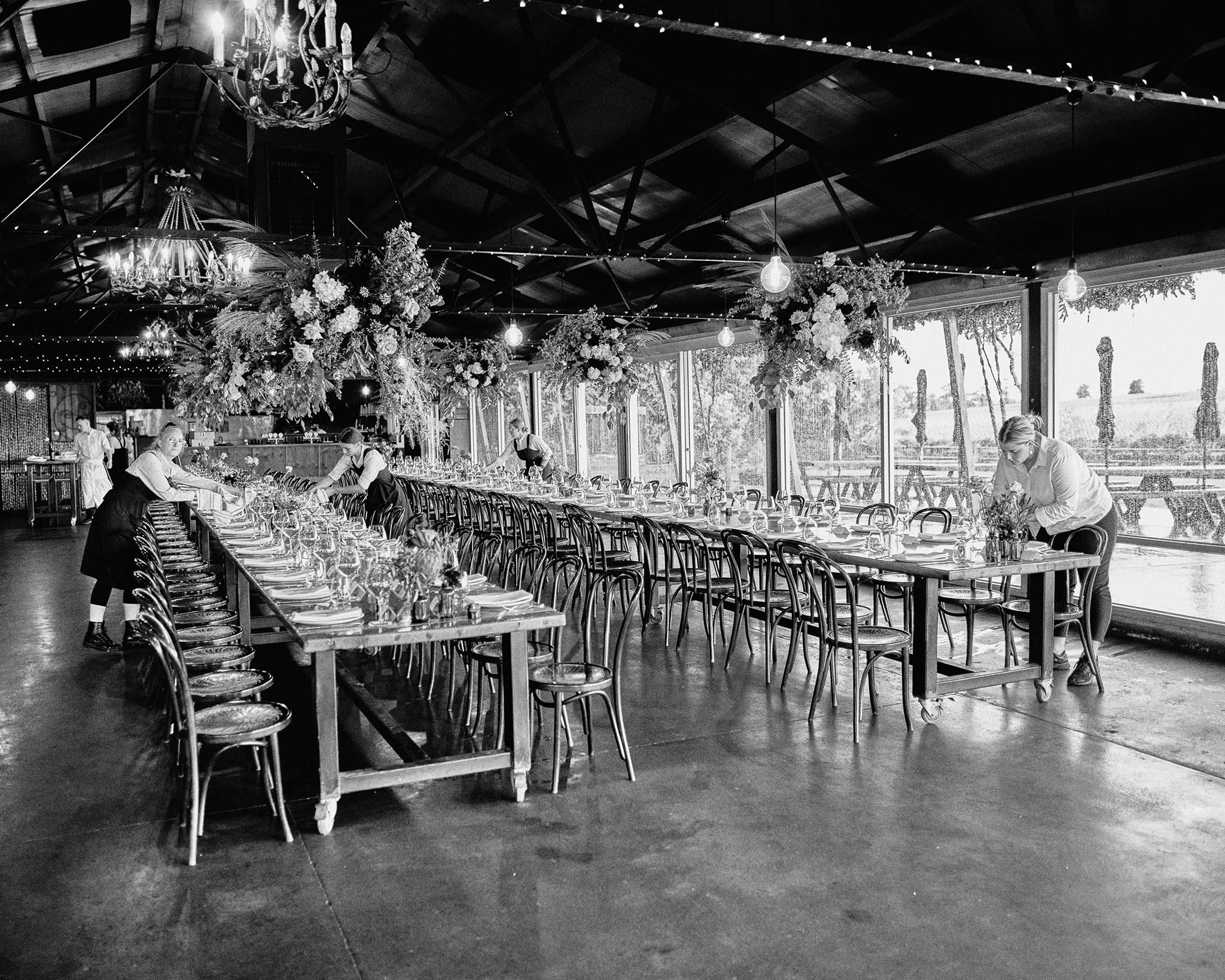 Zonzo estate wedding reception decoration