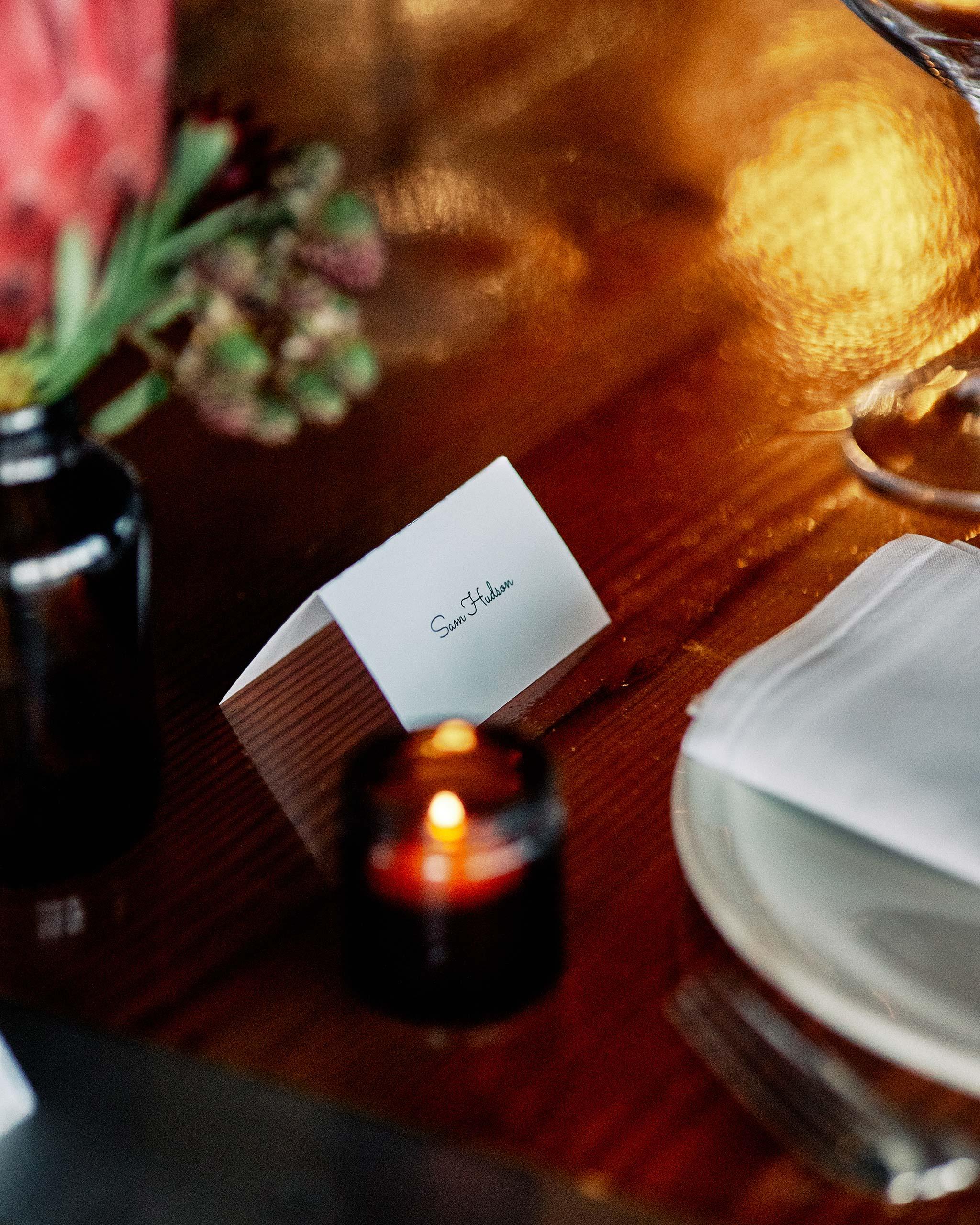 Zonzo estate wedding table decoration