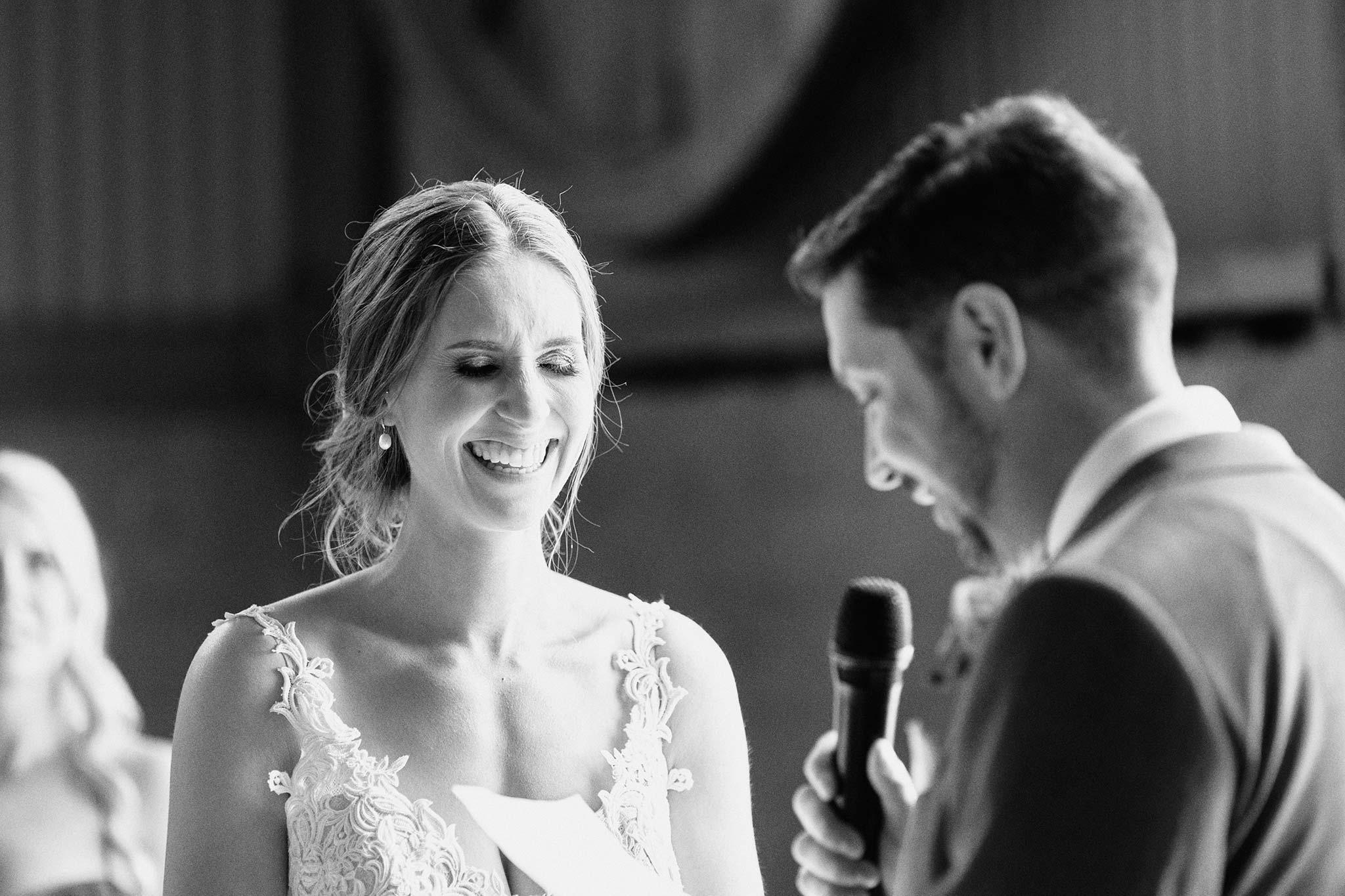 Zonzo estate wedding ceremony groom's vow