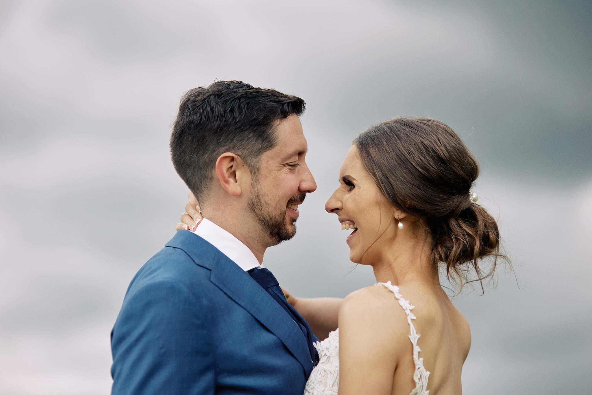 Zonzo estate wedding 85mm close up of bride groom