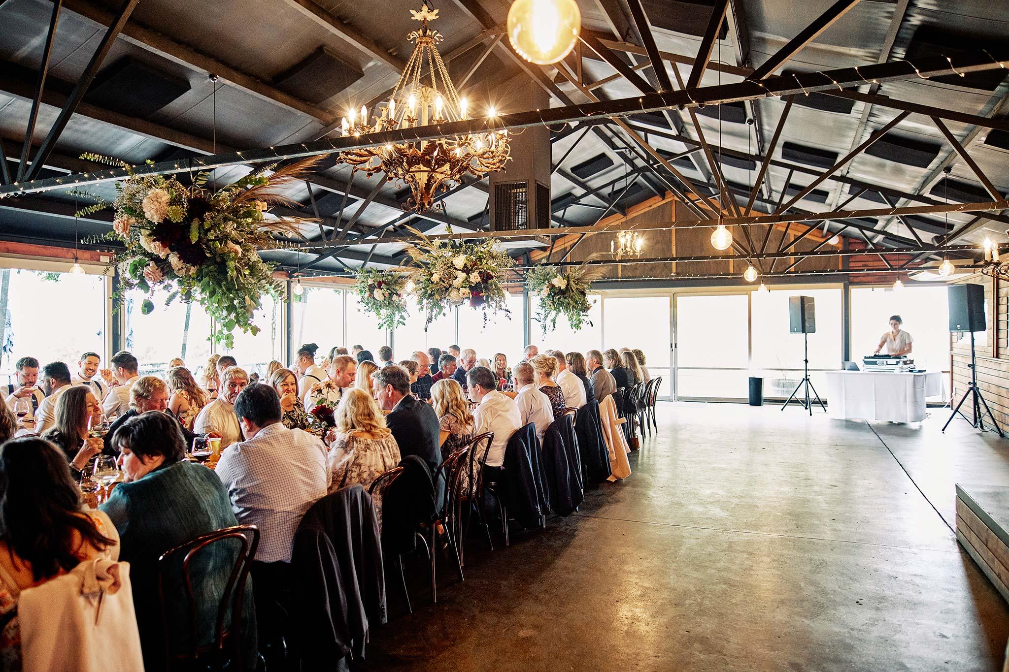 zonzo wedding photography reception with dj