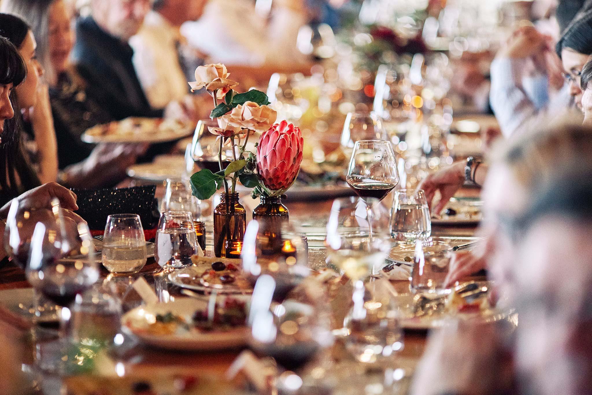 zonzo wedding photography reception table