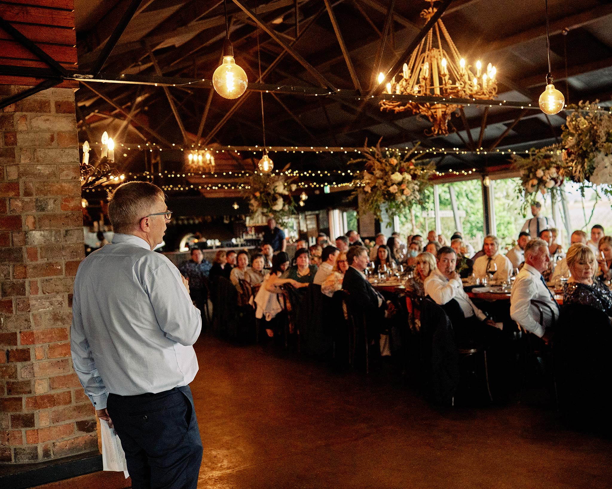 zonzo wedding photography reception speech