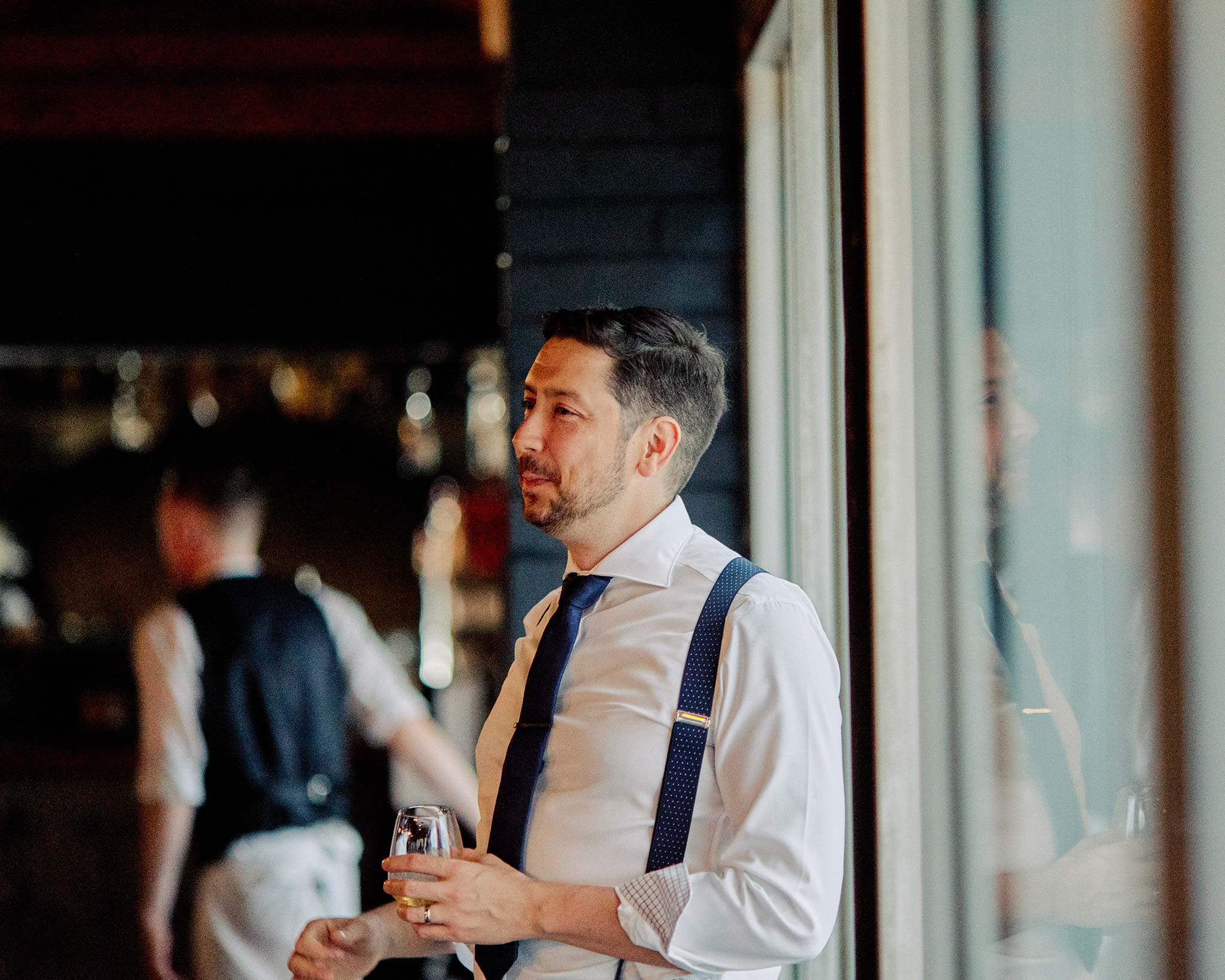 zonzo wedding photography reception groom speech